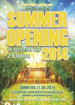 Sun, 11.May 14 - ov-silence Summer Opening - umsonst & draussen