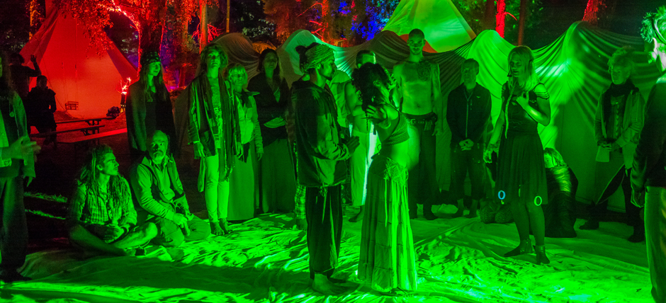New Healing Festival 2016 Green Light