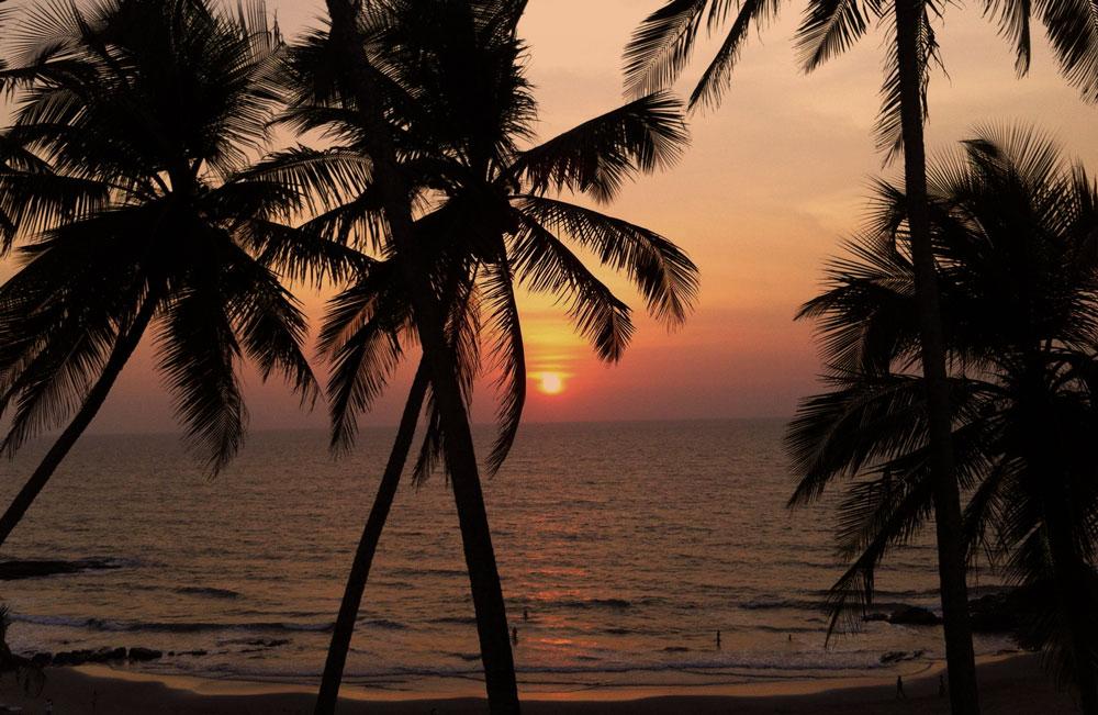 Goa beaches Sunset